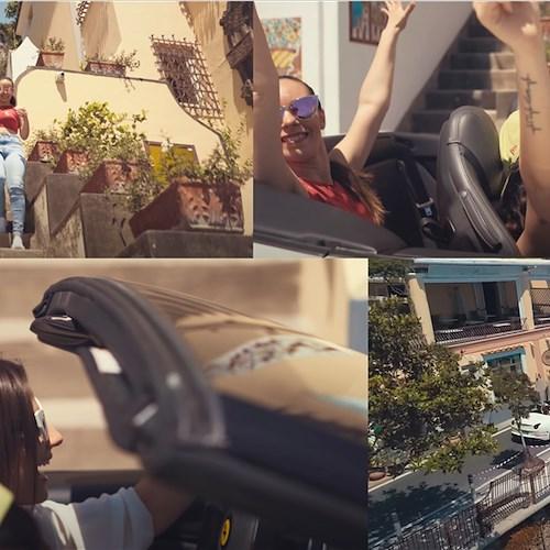 Positano Notizie Bye Bye Il Nuovo Videoclip Musicale Di Anna Capasso Girato Tra Positano E Sorrento