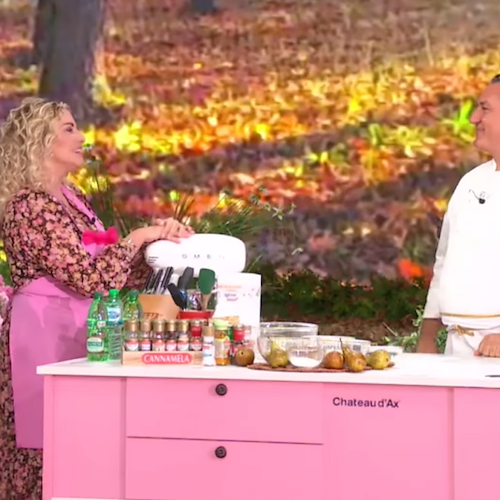 "Sal De Riso torna in TV con Antonella Clerici e propone la ""Dolcezza d'Autunno"" /VIDEO"