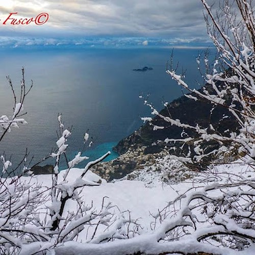 Temperature in calo in Campania, nevicate e gelate su aree interne