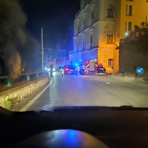 Traffico in tilt per incidente a Seiano in Penisola Sorrentina