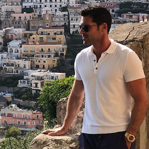 "Vacanza a Positano per Chad Carroll, star di ""Million Dollar Listing Miami"" su Bravo TV"